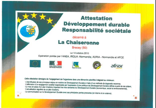 Diplôme «Développement durable/responsabilité sociétale»