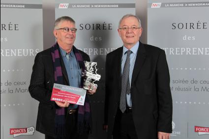 Lauréat du trophée des entrepreneurs de la Manche