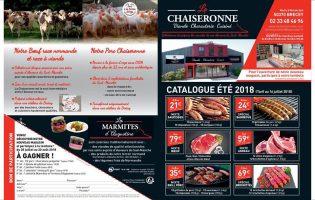 Tarif été 2018 La Chaiseronne 1