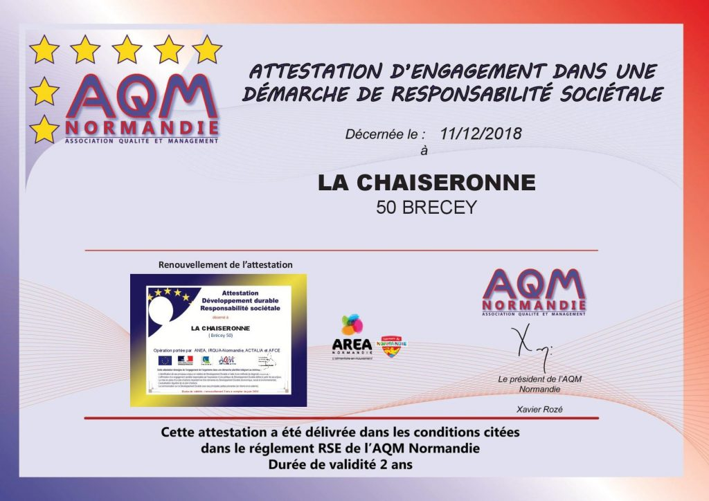 DIPLÔME «DÉVELOPPEMENT DURABLE/RESPONSABILITÉ SOCIÉTALE»RENOUVELE